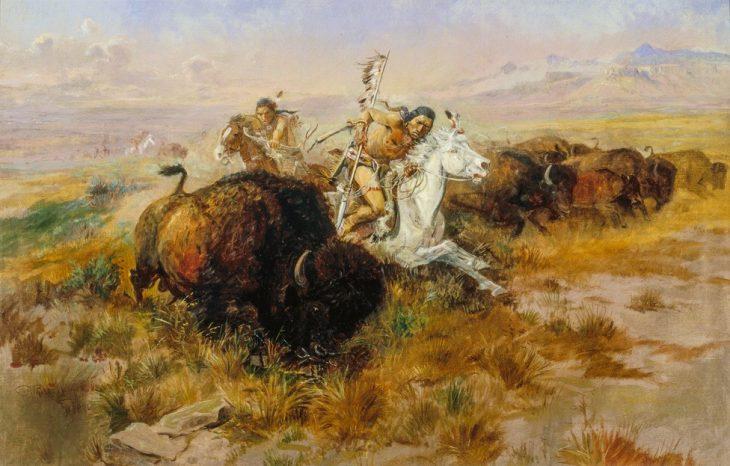 Russell_Buffalo Hunt